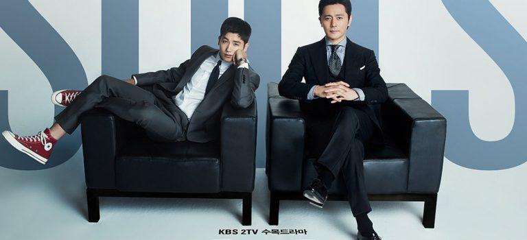 الدراما الكورية  Suits /الدعاوي القضائية